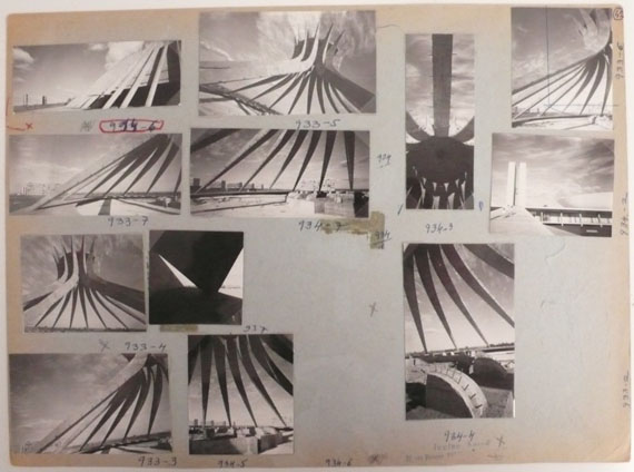 Lucien Hervé: Brasilia, Cathedral (Oscar Niemeyer), 1961