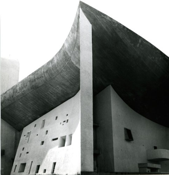 Lucien Hervé: Ronchamp, c 1954