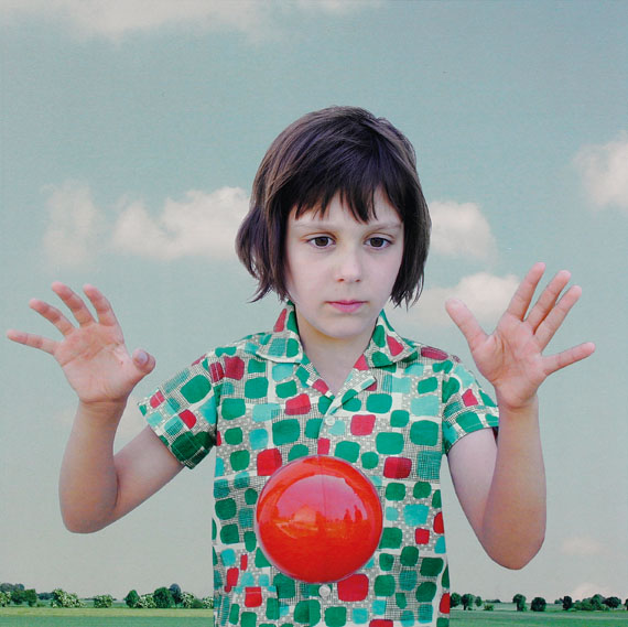 Loretta Lux (b. 1969)The Red Ball 1, 2000Cibachrome print30 x 30cm.This work is number 4 from the edition of 20.£3,000 – 5,000