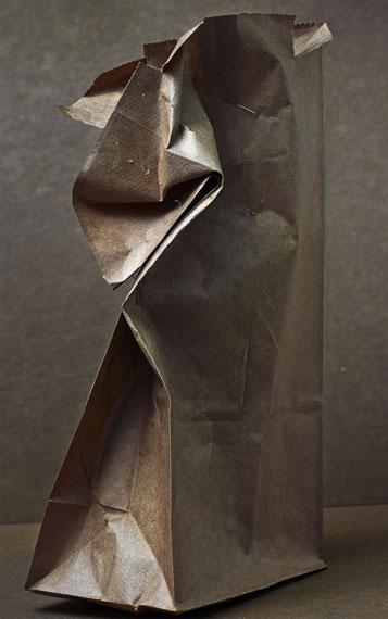 Brown Bag with Staples, 2014 ©Abelardo Morell/Courtesy of Edwynn Houk Gallery, New York