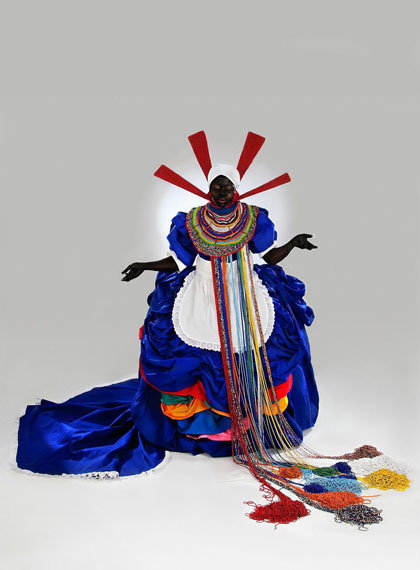 Mary Sibande, from the series Long Live the Dead Queen, 2009-2010. Courtesy of the artist and Gallery MOMO.