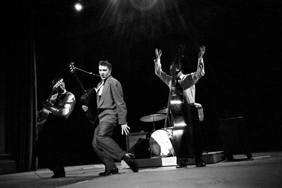 Alfred Wertheimer, Four Fingers, CBS Studio 50, New York City, March 17, 1956