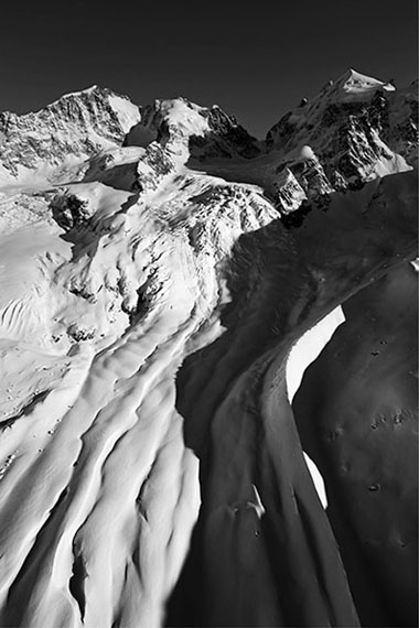 Robert Boesch: Piz Bernina, Tschierva Glacier, Switzerland, 2007100 x 140 cm, Fine Art Print on laid paper, Edition 7 & 1AP