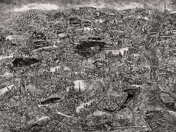Diorama Map Tokyo, 2014 © Sohei Nishino