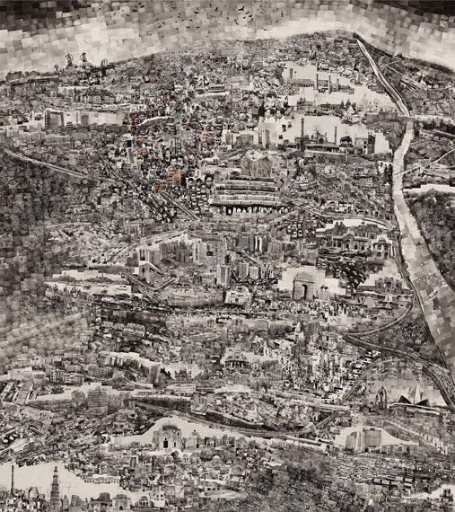 Diorama Map New Delhi, 2013 © Sohei Nishino