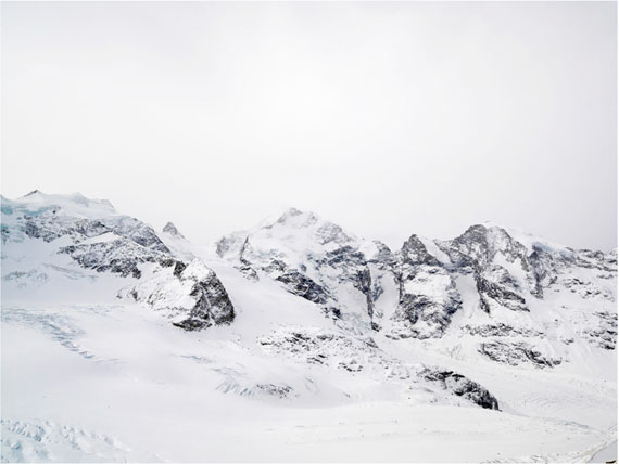 Robert Bösch: Tschiervagletscher, Schweiz, 2007, 100 x 147 cm, Fine Art Print auf Büttenpapier Auflage 7 & 1 AP