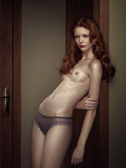 Erwin Olaf, Hotel Milan - Irma Portrait, RECENT WORK, courtesy of Hamiltons Gallery