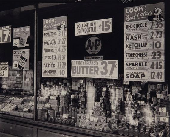 Lot 233BERENICE ABBOTT (1898-1991)A & P Store Window, circa 1930€10,000–15,000