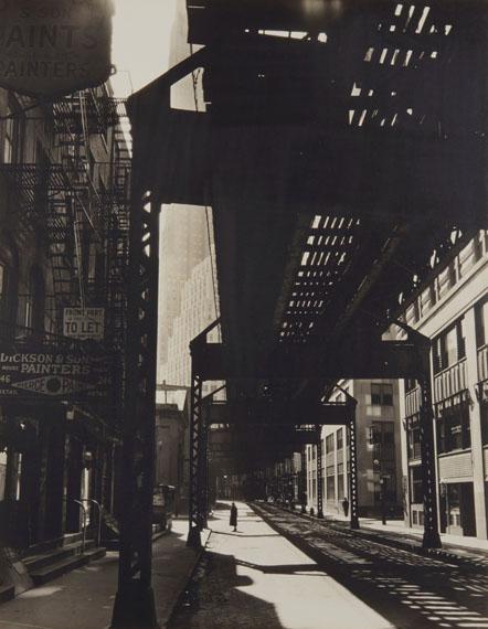 Lot 254BERENICE ABBOTT (1898-1991)El, Second and Third Avenues Lines, 1936€10,000–15,000