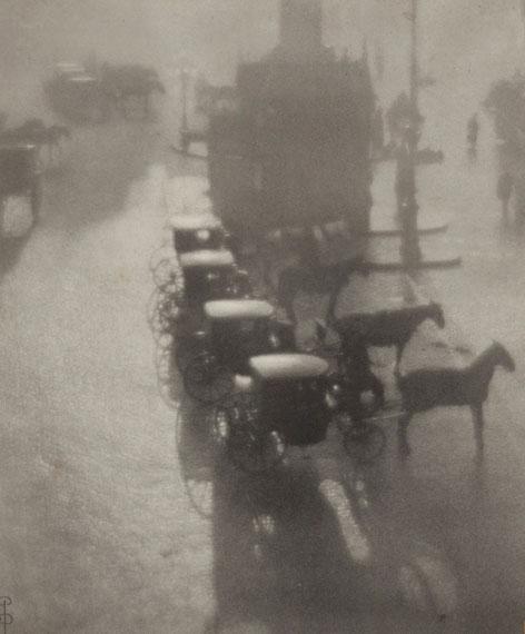 Lot 118PIERRE DUBREUIL (1872-1944)Petite place de province, huile, 1908€40,000–60,000