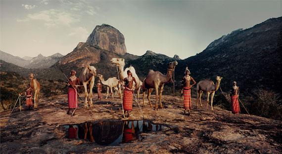 Lelesas, Louelen, Lewangu, Lepokodou Loingu & Nyerere, Ndoto Mountain Range, 2010AFRICA, Kenya - SAMBURU© Jimmy Nelson
