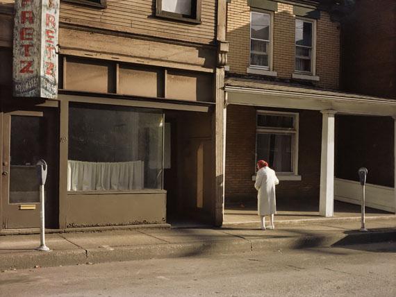 Jérôme Liebling, Morning, Monessen, Pennsylvania, 1983, tirage argentique, 2007-2011, 75 x 100 cm. Edition 1/4. ©Jérôme Liebling, courtesy Galerie Frédéric Moisan (Paris) & Steven Kasher Gallery (New York)