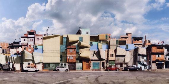"""Lot 20Dionisio González (n.1965)""""Nova Heliópolis II"""", 2006Color photography, Diasec, 100x200 cm, Signed Edition 6/7 Estimate: € 5.000 - 9.000"""