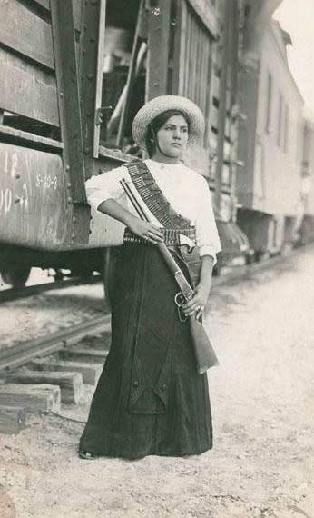 Anonyme - Révolution mexicaine, 1913Tirage argentique© Courtesy Lumière des Roses