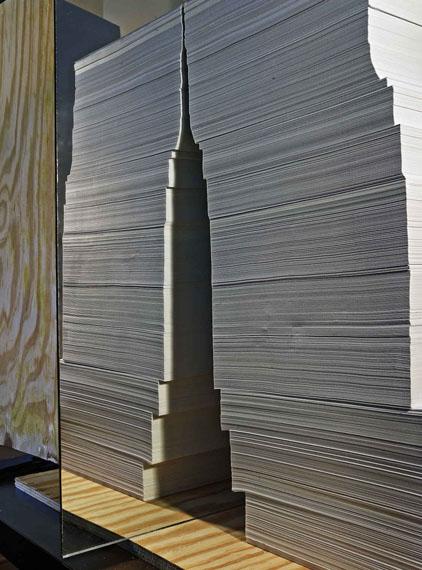 Abelardo MorellPaper Empire, 2014Archival pigment print© Abelardo Morell/Courtesy Edwynn Houk Gallery, New York