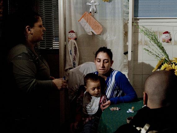 Valerio Spada: Francesca's mother, aus der Serie: Gomorrah Girl, 2010