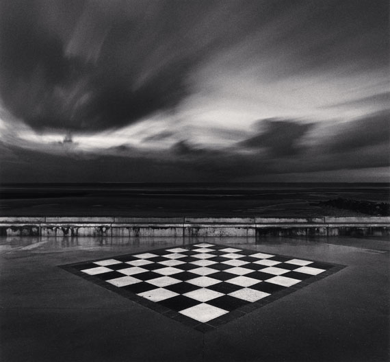 Chess Board, Wimereux, France. 2000 © Michael Kenna