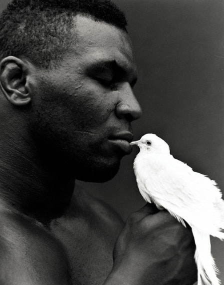 Michel Comte · Mike Tyson · 1990