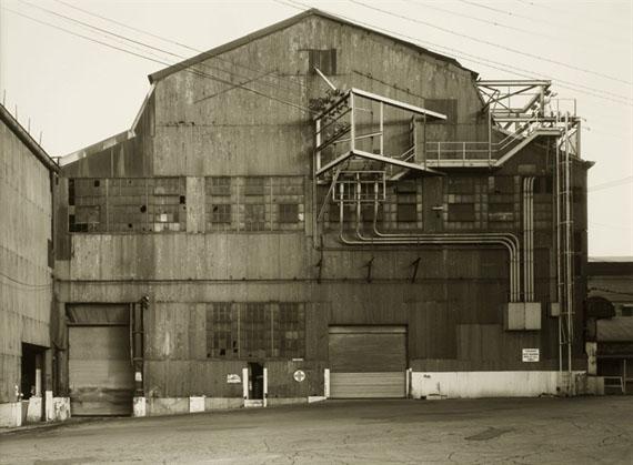 Bernd and Hilla BecherIndustrial Facades, Steubenville, West Virginia, USA, 1987Gelatin silver printEdition of 511.5 х 15.5 in. Est. 8,000–10,000 USD