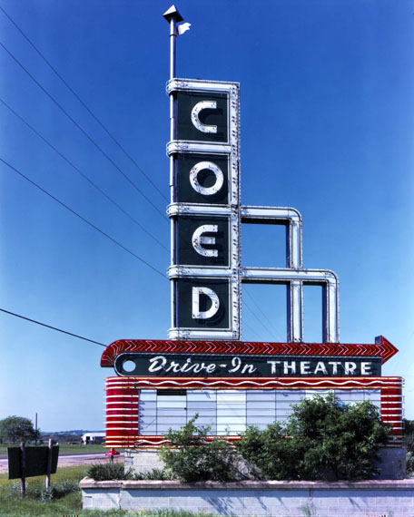 Jim Dow: Coed Theatre sign
