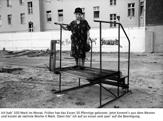 Reportage aus dem Niemandsland, 1989/90 © Bettina Flitner