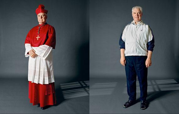 Kleider machen Leute, Bischof, 2012 © Herlinde Koelbl