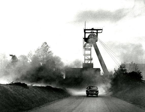 Luftschacht Zeche Hugo, Gelsenkirchen 1962 © Rudolf Holtappel