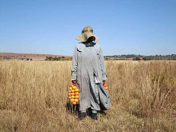 "Theresa Makwenya, Carletonville, from the series ""Kin"" (2006-2013), 2013 © Pieter Hugo, courtesy 