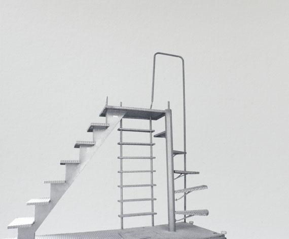 Sabine Schründer, Treppe aus der Reihe Ellipsen, 2010
