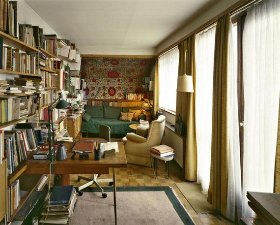 Margherita Spiluttini: Wohnung von Margarete Schütte-Lihotzky, Wien, 2000© Margherita Spiluttini, Courtesy: Christine König Galerie, Wien.