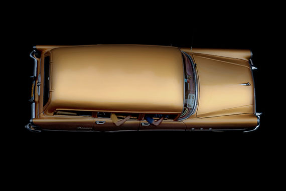Thomas Meinicke: Havana Cab #12, 120 x 80 cm, Direktdruck auf gebürstetem Alu, Edition 25