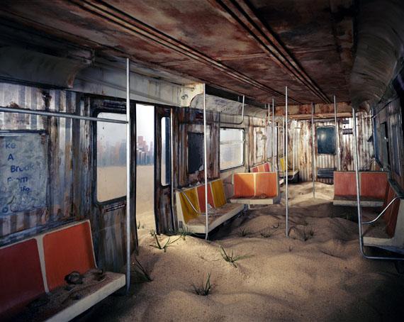 Lori Nix: Subway, 2012 © Lori Nix