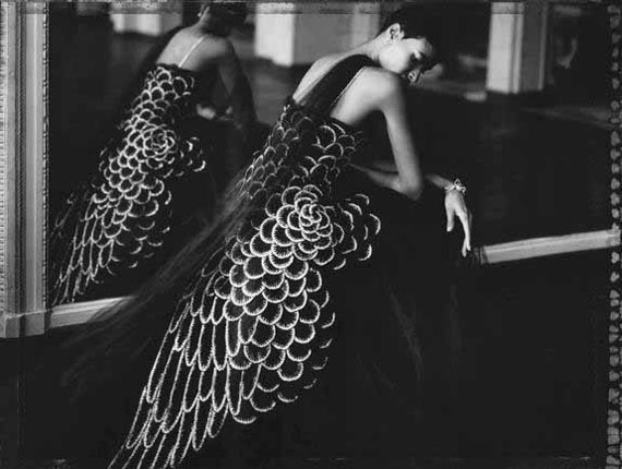 My paradise bird I, Chanel - Haute Couture Winter 2006 - n°53, 2008© Cathleen Naundorf