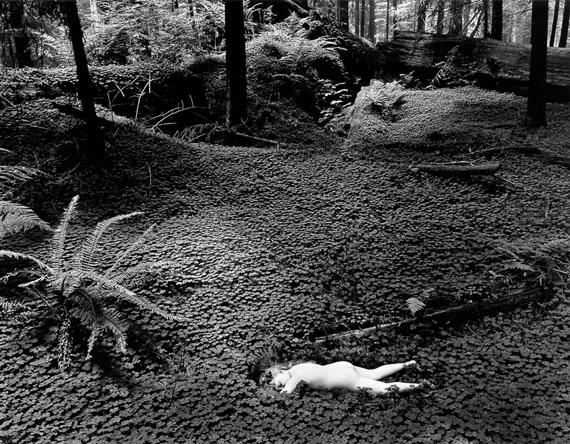 Child in Forest, 1951 © Wynn Bullock