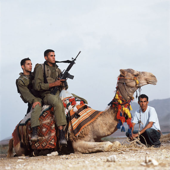 Ohad Matalon: Assaf & Haled-Jordan Valley, 2007, 120 x 120 cm