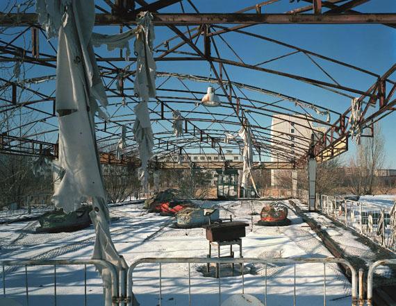 © Andreas Gefeller, Autoscooter: Tschernobyl, Pripjat, 1996