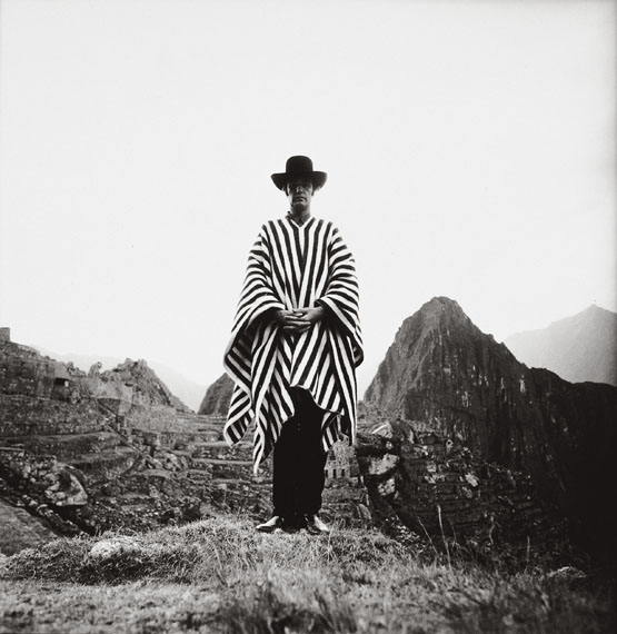 Lothar WollehLothar Wolleh Selbstportrait, Machu Picchu, Peru, 1971© Oliver Wolleh, Berlin
