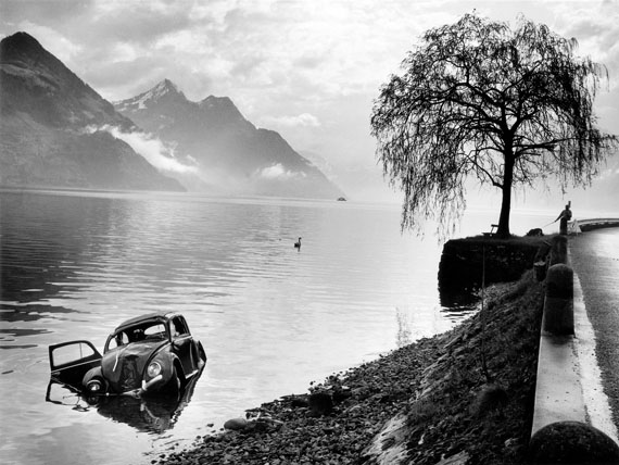 Arnold Odermatt: Buochs, 1965, Gelatin silver print, 30 x 40 cm, © Urs Odermatt, Windisch