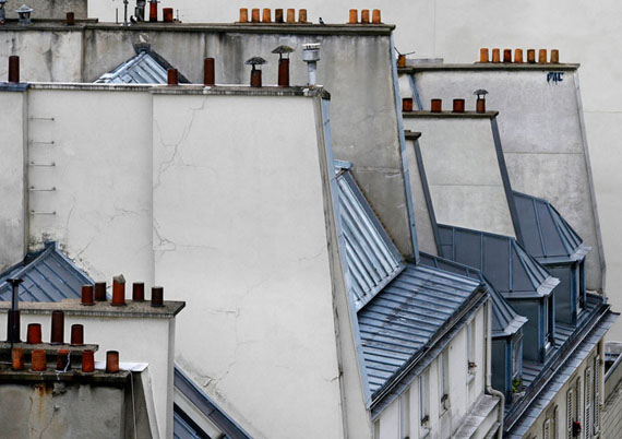 Michael Wolf: Paris Rooftops No.3, 2014