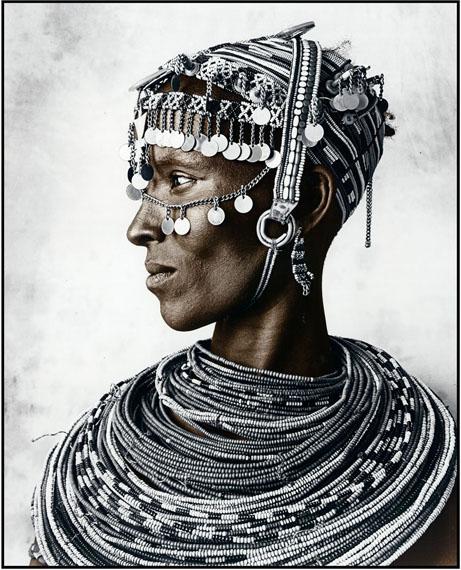 Jan C. SchlegelRendille Tribe, Kenia 2011Silver Gelatin Print, tonedEdition of 10© Jan C. Schlegel/ Courtesy of Bernheimer Fine Art