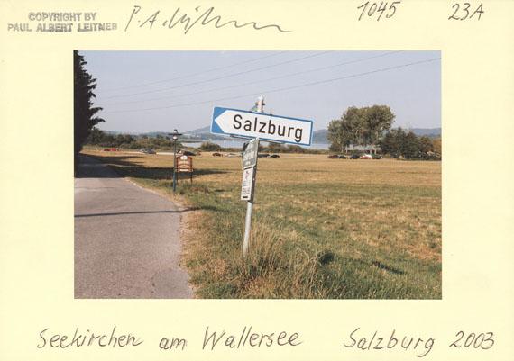Paul Albert Leitner: Karteikarte 2003