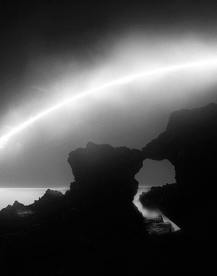 Eric Newnam (ericnewnam.com)Sea Arch, Malibu, California, 2014Gelatin silver print, 20x16 inches