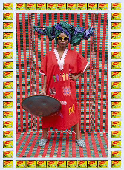 Hassan HajjajV.B.F., 2013Metallic Lambda print on Dibond with wood and found objects35.5 x 25.5 inCourtesy of the artist and GUSFORD | los angeles