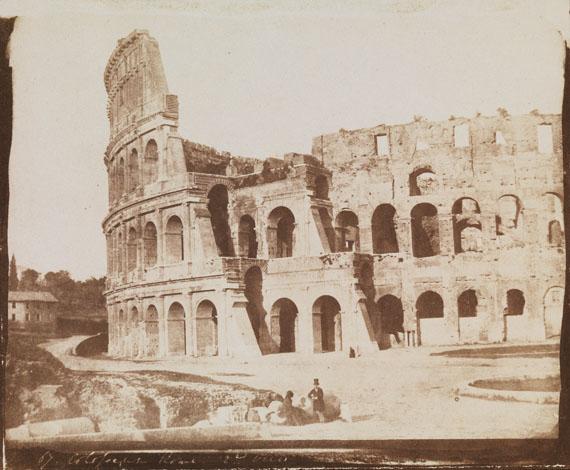 Calvert Richard Jones (1804-1877)The Colosseum, Rome, 1846Calotype, 18.9 x 22.7 cm