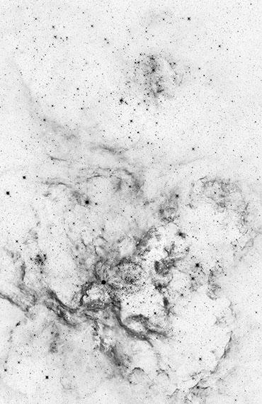 "Michael Najjar: ""oscillation universe"", 202 x 132 cm, Edition of 6"