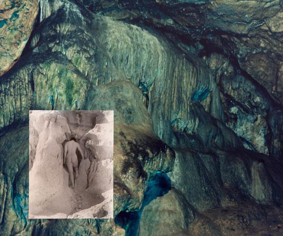 """o.T., aus der Serie """"FRACTAL SCARS, SALT WATER AND TEARS"""" Collage, Silbergelatineprint und C-Print, 50 x 60 cm, 2012/14 © Esther Teichmann"""