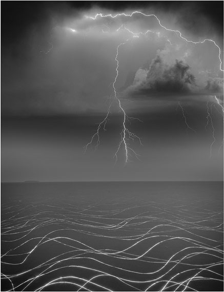 DONG WENSHENG Summer Solstice (2011) Silver gelatin print 32.5x25cm, Ed. of 12