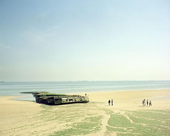 Gold Beach . 60. Jahrestag des D-Day in der Normandie, 2004 © Marc Beckmann