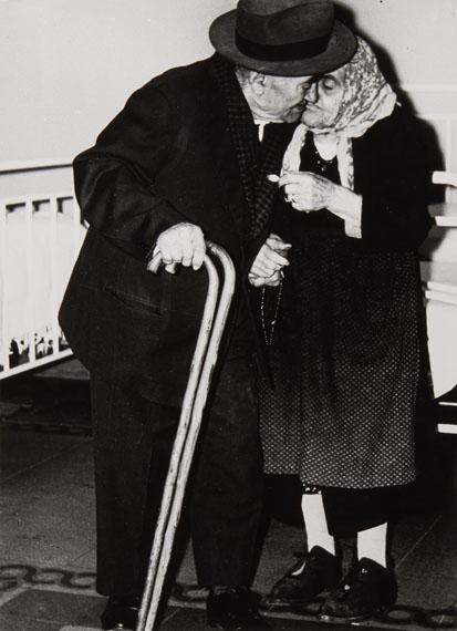 """Mario Giacomelli: from the series """"Verrà la morte e avrà i tuoi occhi"""", Italy, 1954"""