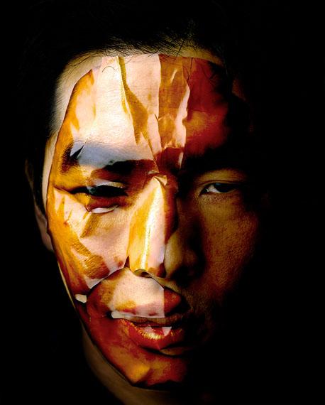 Self-portrait, Inkjet print, 113 ⅹ 90cm, 2010  ⓒ Taewon JANG